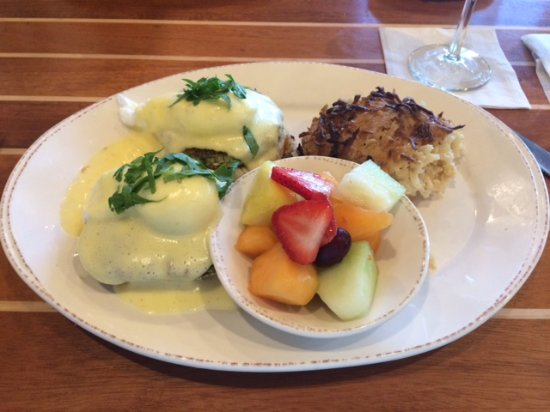 Prior Lake, Миннесота: crab spinach benedict- ( Fishy after taste)