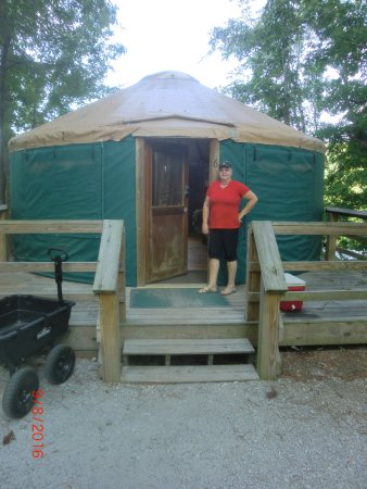 Winder, GA: Fort Yargo Yurt