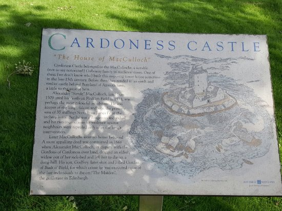 Gatehouse of Fleet, UK: Cardoness Castle