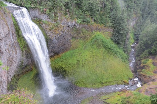 Oakridge, OR: Falls & River. Salt Creek Falls, OR