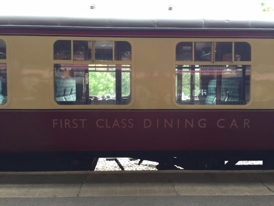 Aviemore, UK: The First Class Dining Car