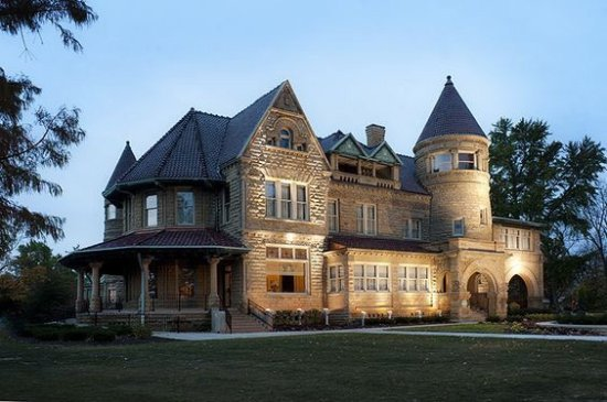 Brookside Mansion: The Bass Mansion, called Brookside, is one of the tip-top most amazingly restored elegant homes/