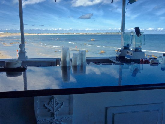 The Surf: view from the bar