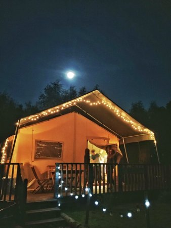 Amazing glamping experience with outstanding facilities