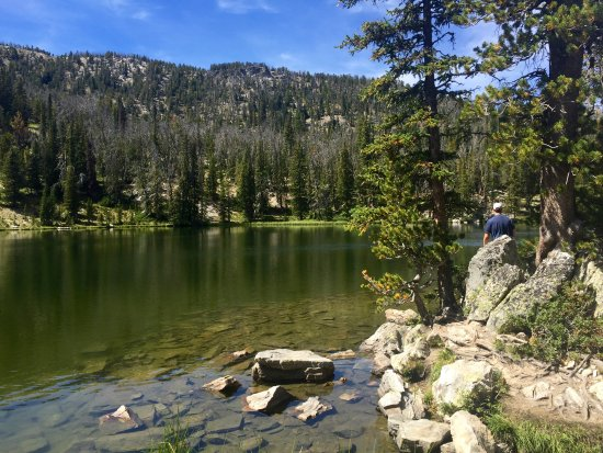 Gallatin Gateway, MT : Fly fishing at Golden Trout Lakes