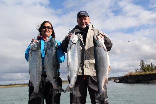 Soldotna, AK: Nice salmon