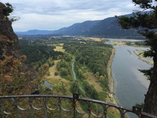North Bonneville, WA: Another view from Beacon Rock Trail