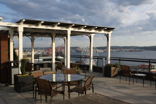 Inn at the Market: This is the rooftop sitting area