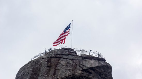 The Top of Chimney Rock