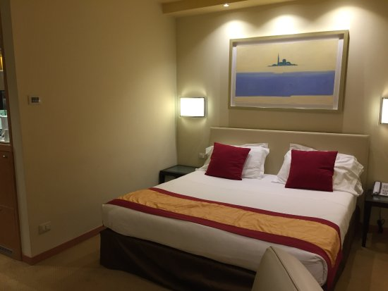 Junior suite letto King Size - Picture of Crowne Plaza Padova ...