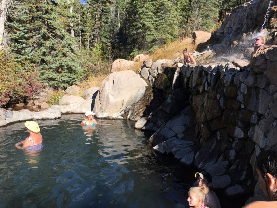 Strawberry Park Hot Springs: Strawberry park upper pools