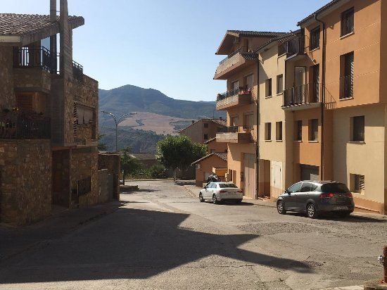 Provincia de Huesca, España: Beautiful little town Aren.