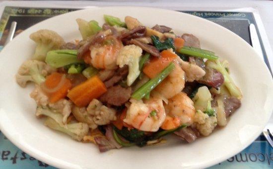 Ulladulla, Australië: Best combination chow mien