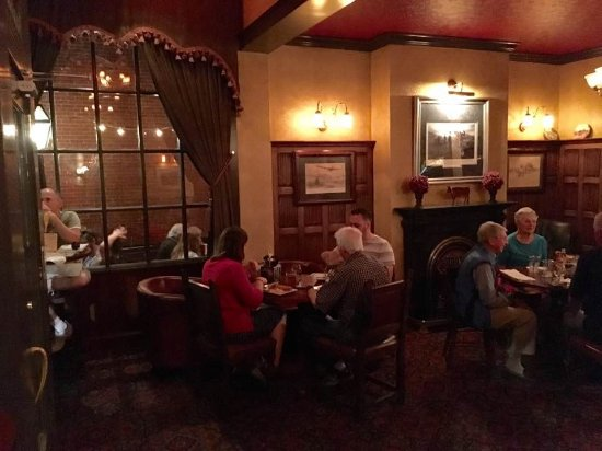 Lititz, Pensilvania: the new dining room