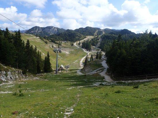 Bohinjsko Jezero, Eslovênia: Vogel Ski Center
