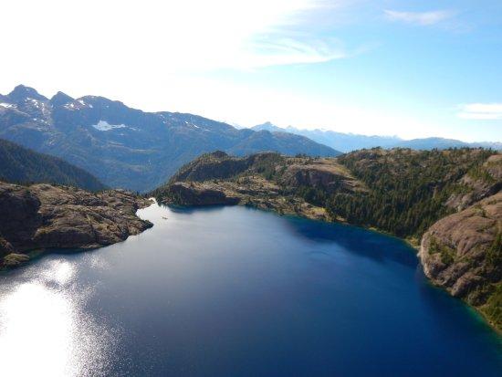 Campbell River, Kanada: Lac en redescendant