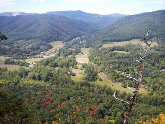 View from the Observation Deck, Seneca Rocks