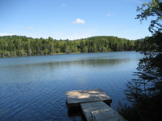 Parrsboro, Canadá: Lake at the Sunshine Inn