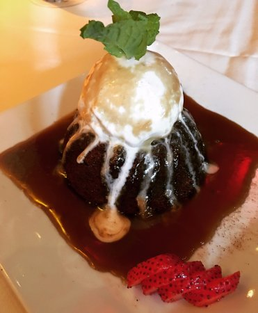 peli peli mothers sticky toffee pudding