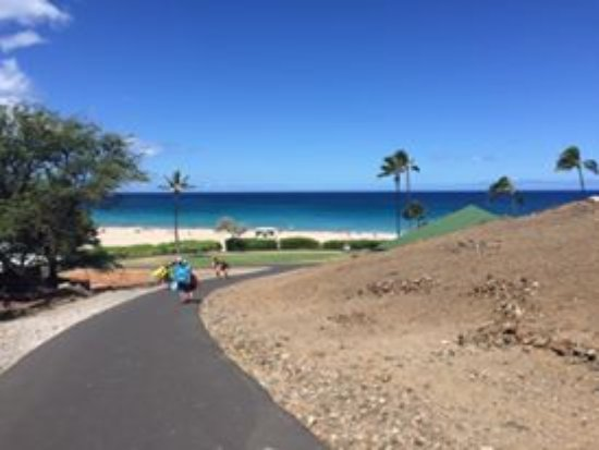 Hapuna Beach State Recreation Area Entrance To