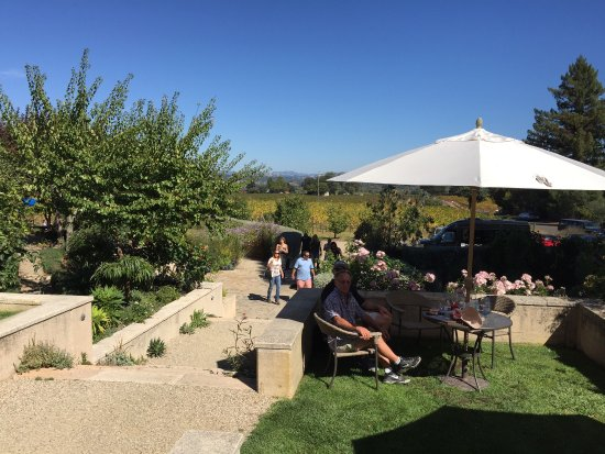 Healdsburg, CA: Nice outdoor space and valley view