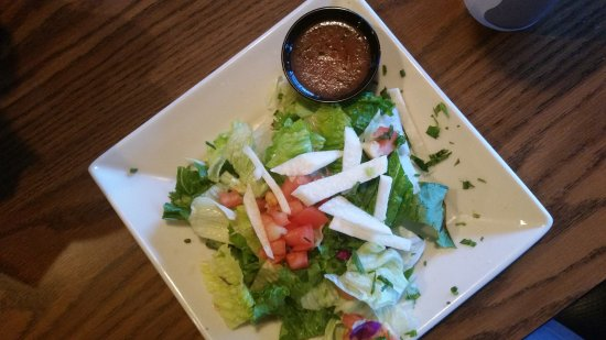 Chino Valley, AZ: Salad (jicama was bitter)