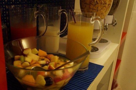 Hotel Caprera: café da manhã