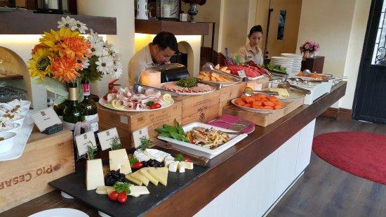 Khao Yai National Park, Tailandia: อาหารเช้า