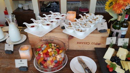 Khao Yai National Park, Tayland: อาหารเช้า