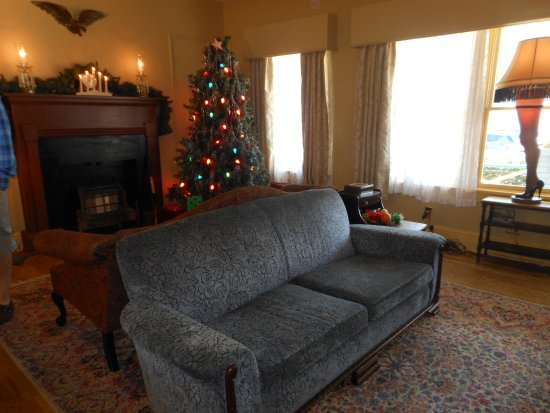 a christmas story house living room inside house