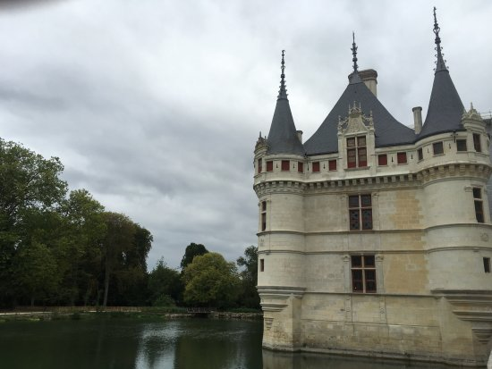 Azay-le-Rideau, Frankrike: Picture without scaffolding