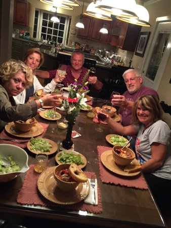 Oak Harbor, WA: Coippino dinner at home