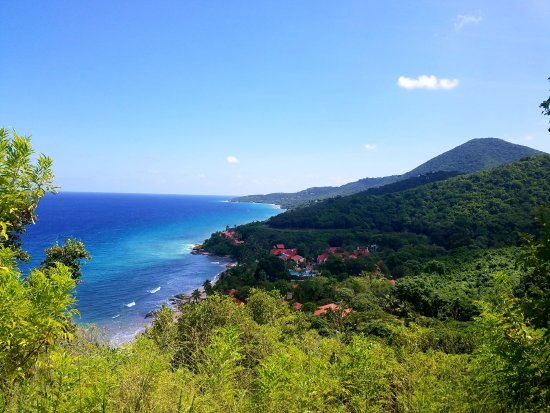 Renaissance St. Croix Carambola Beach Resort & Spa: hiking the trails