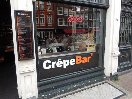 CrepeBar entrance