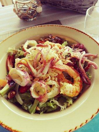 Atlantis Restaurant: Salade de la mer