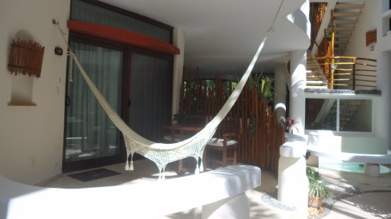 Playa Palms Beach Hotel: Ground floor balcony