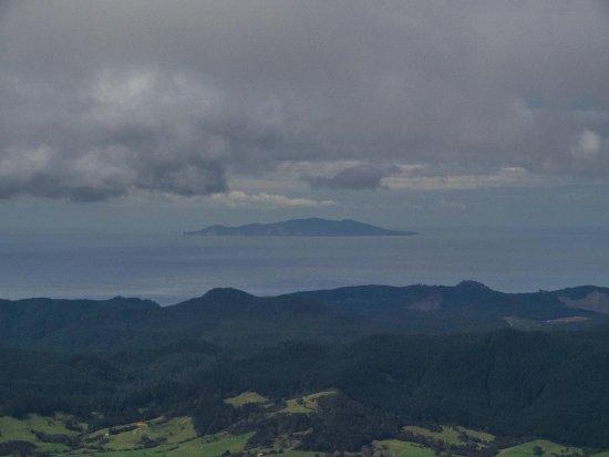 Thames, Nueva Zelanda: View towards the ocean