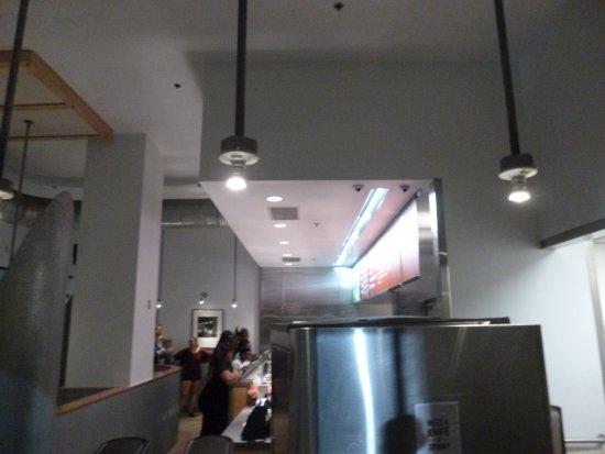 North Miami, FL: Chipotle order counter