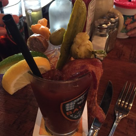 Wauwatosa, WI: Check out all the goodies on this Bloody Mary!