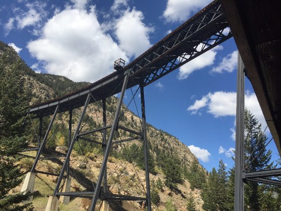 Georgetown, CO: View from under bridge