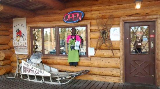Tok, AK: Burnt Paw Gift Store