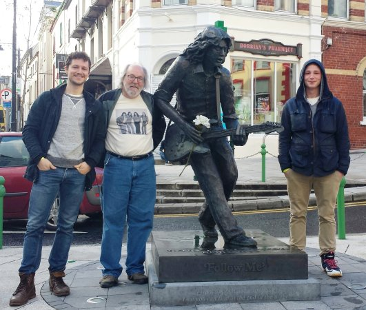 Rory Gallagher Statue Photo