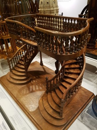 Cooper Hewitt, Smithsonian Design Museum: Model Of Staircase