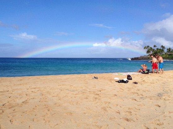 Waimea Bay : A beautiful beach with less people