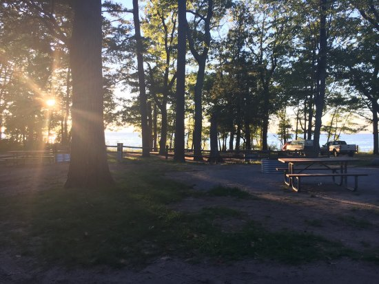 port crescent state park lot 63 camping in july 2016 picture of