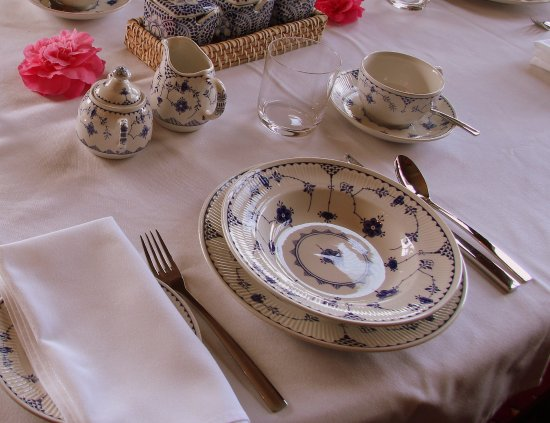 Beauty Point, Австралия: Breakfast Table