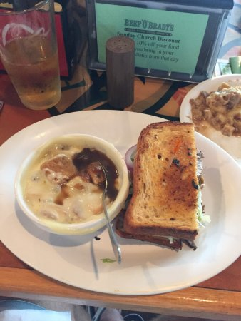 Sebring, Φλόριντα: Watterman and french onion soup