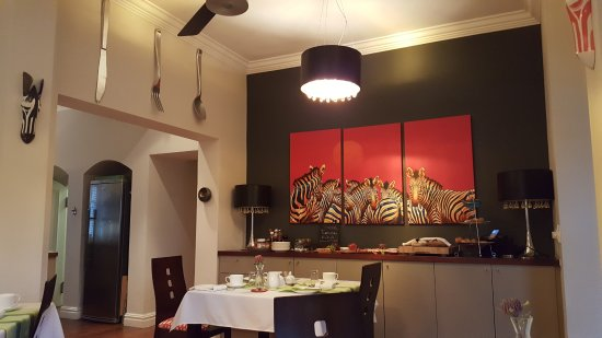 Derwent House Boutique Hotel: Breakfast room