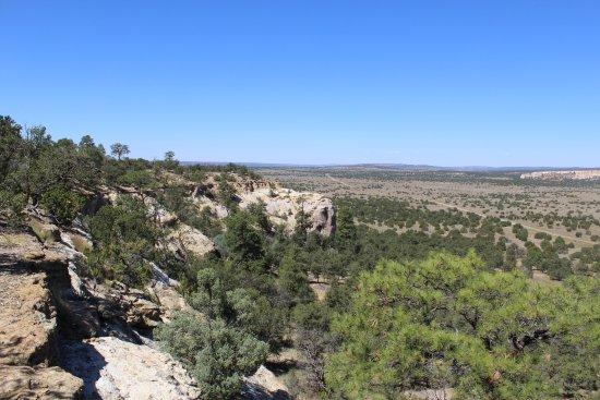 Ramah, นิวเม็กซิโก: View West toward Zuni Pueblo