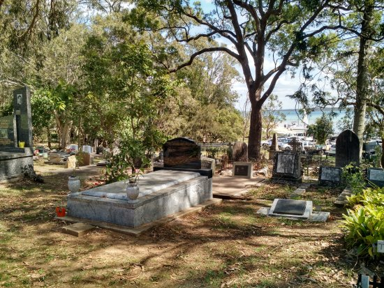 North Stradbroke Island, Austrália: Dunwich Cemetery
